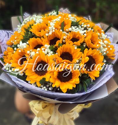 hoa sinh nhat 80